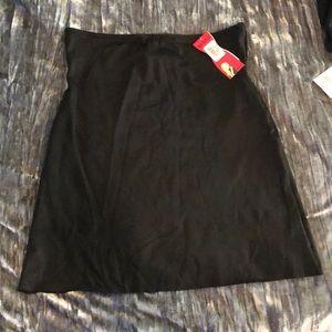 NWT Spanx Black Half Slip Size XL